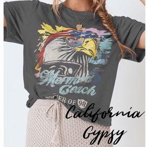 JUST IN🎉Gypsy Mermaid Beach T-shirt boho